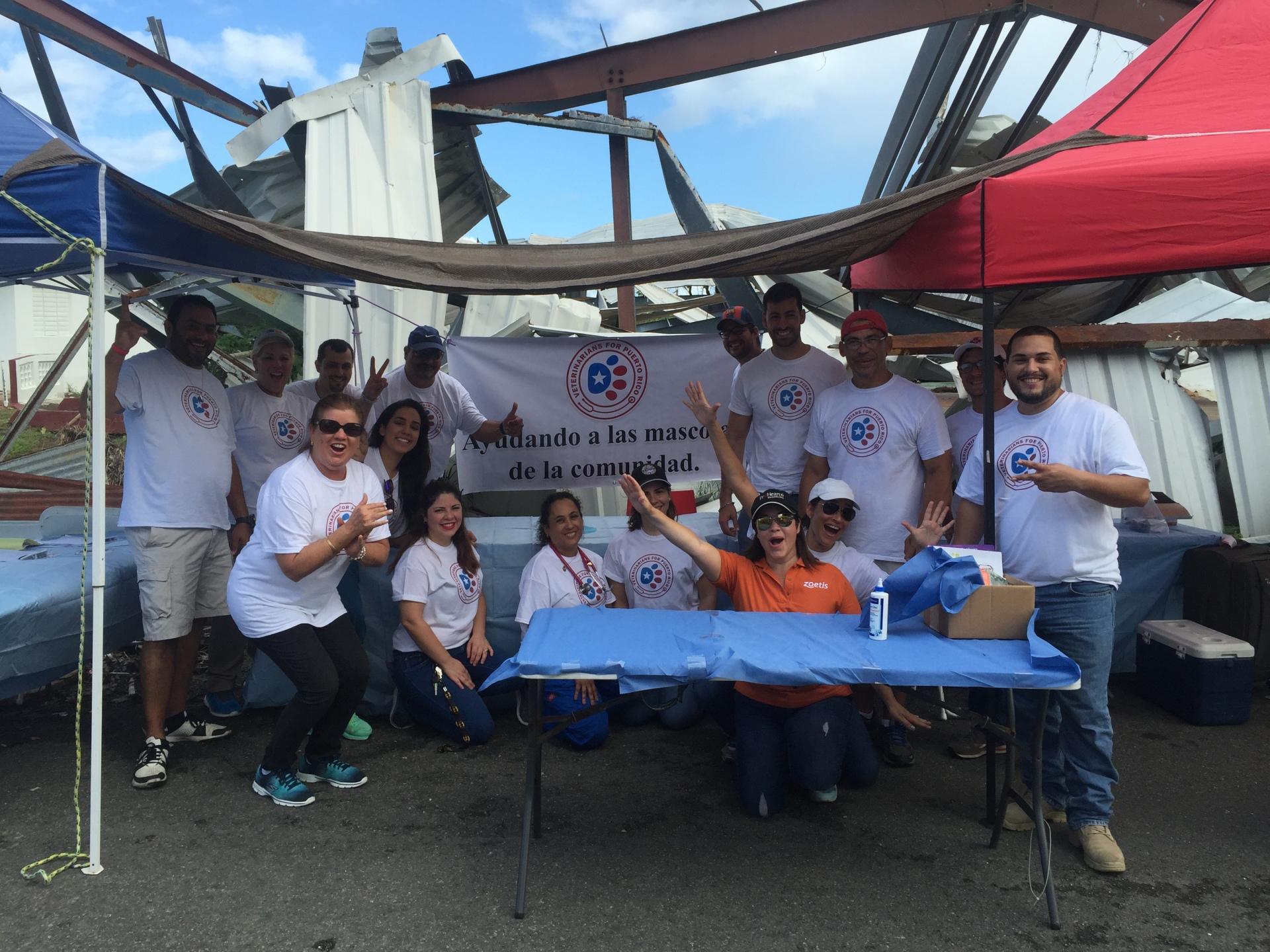 The crew ready to serve the community in Rio Grande