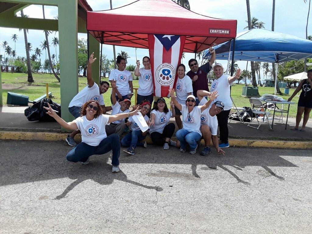 The crew at Añasco