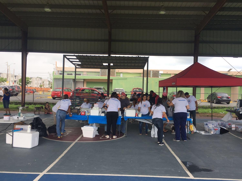 The setup in Loiza