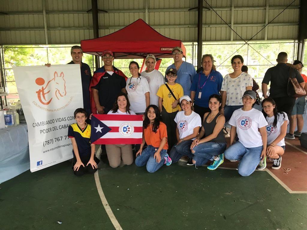 The crew in Trujillo Alto