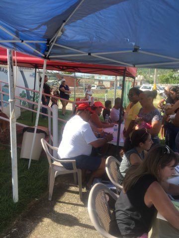 Maunabo registration table