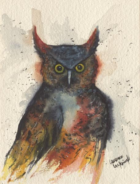 Horned Owl #1