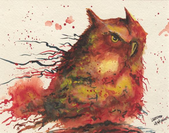 Orange Owl