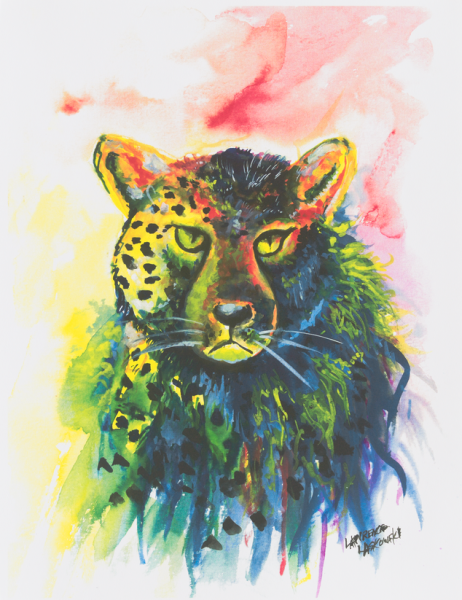 Colorful Cheetah