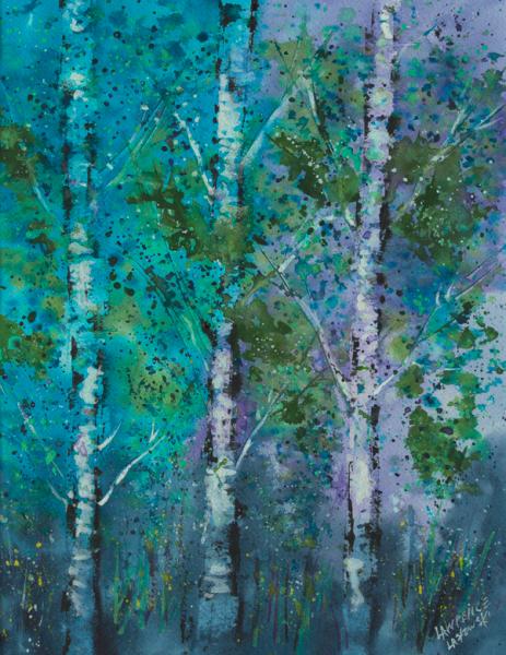 Blue Aspen Grove #1