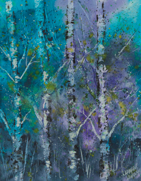 Blue Aspen Grove #2