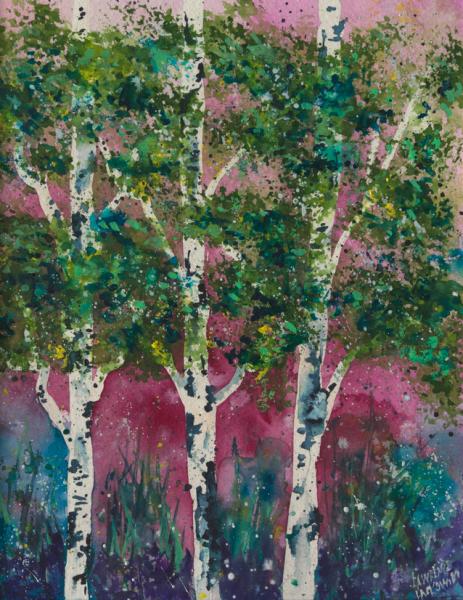 Magenta Aspen Grove #2