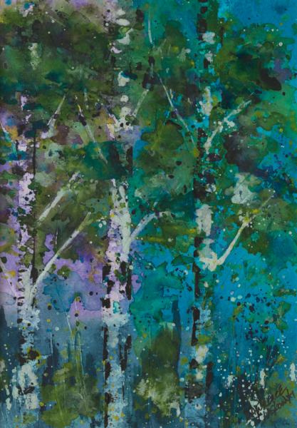 Blue Aspen Grove #3