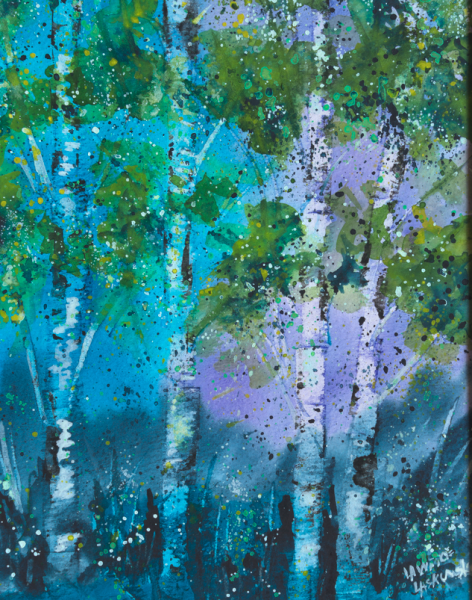 Blue Aspen Grove #4