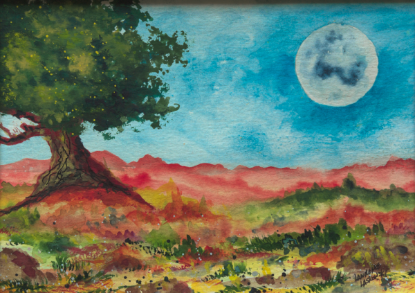 Navajo Moon