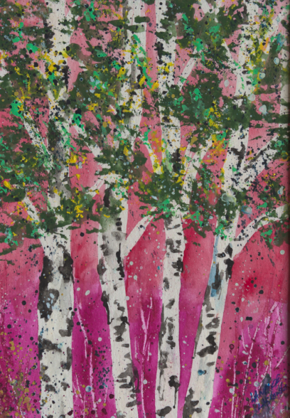 Magenta Aspen Grove #3