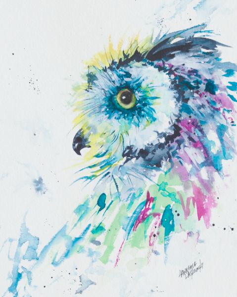 Owl Looking Back