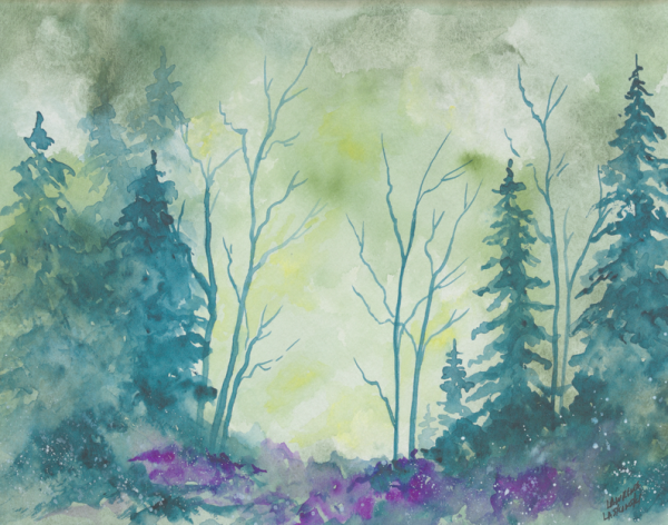 Blue Calm Meadow
