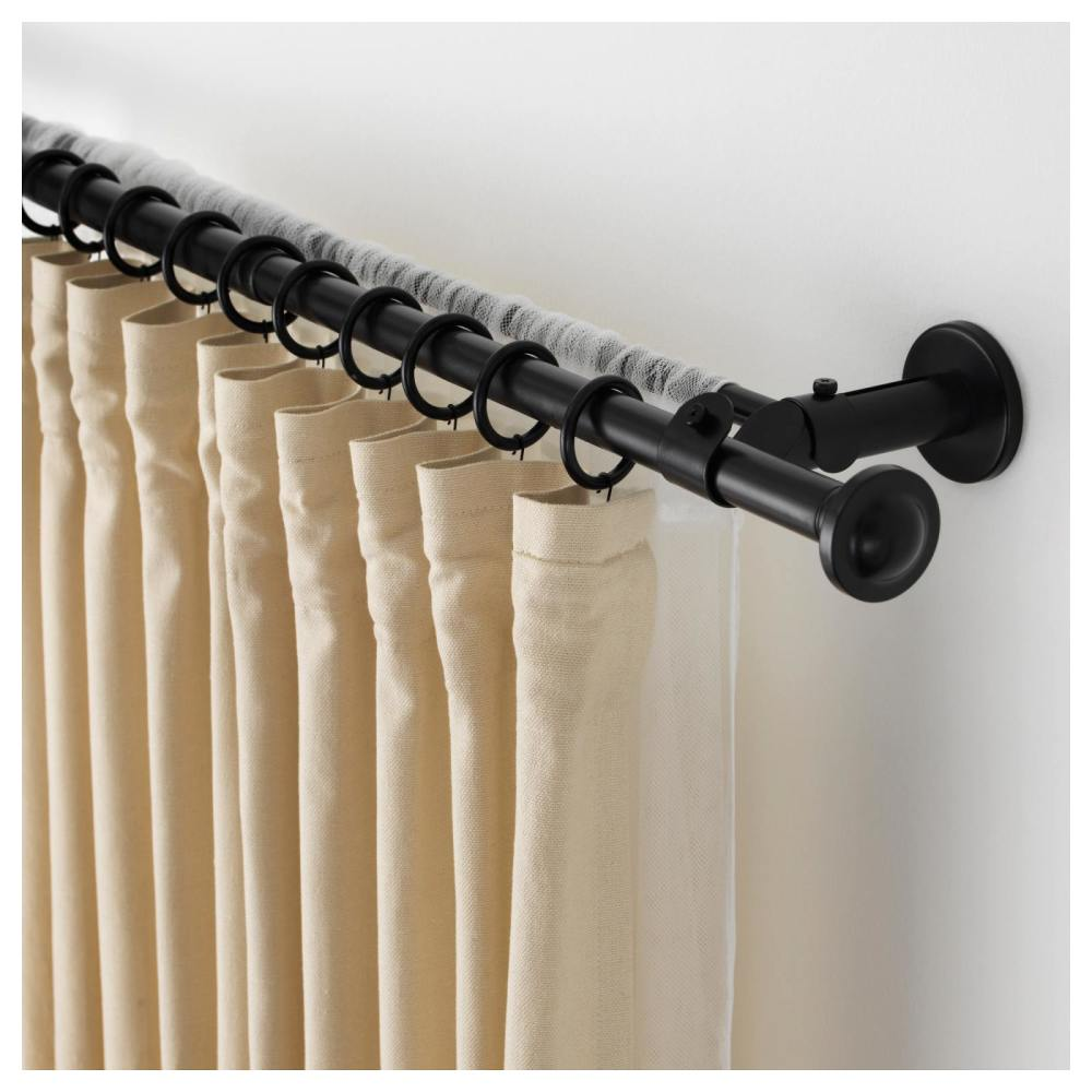All About Bath Décor Extra Long Shower Rods