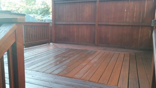 AFTER (Semi-Transparent Stain)