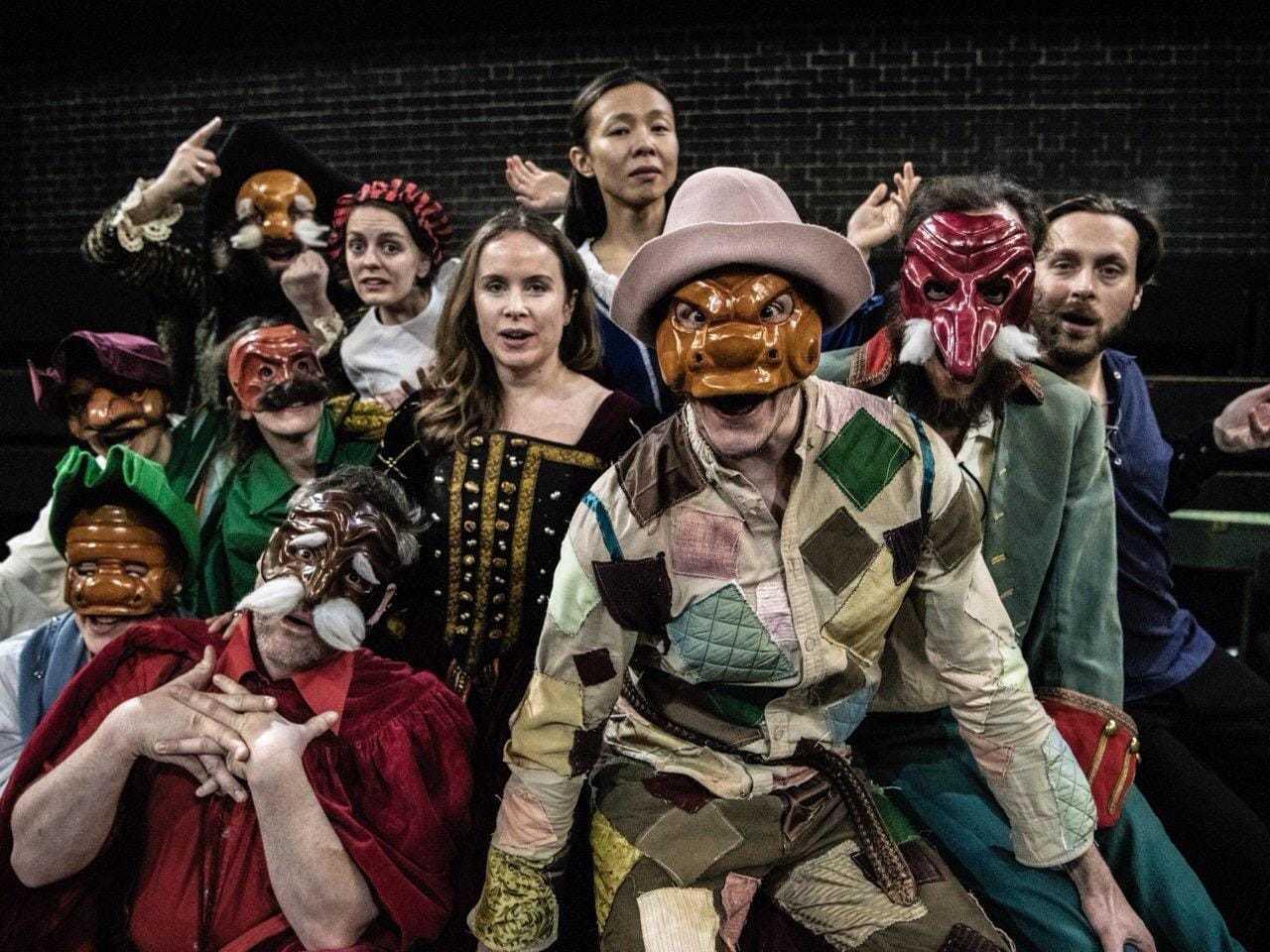 London cast, February 2019