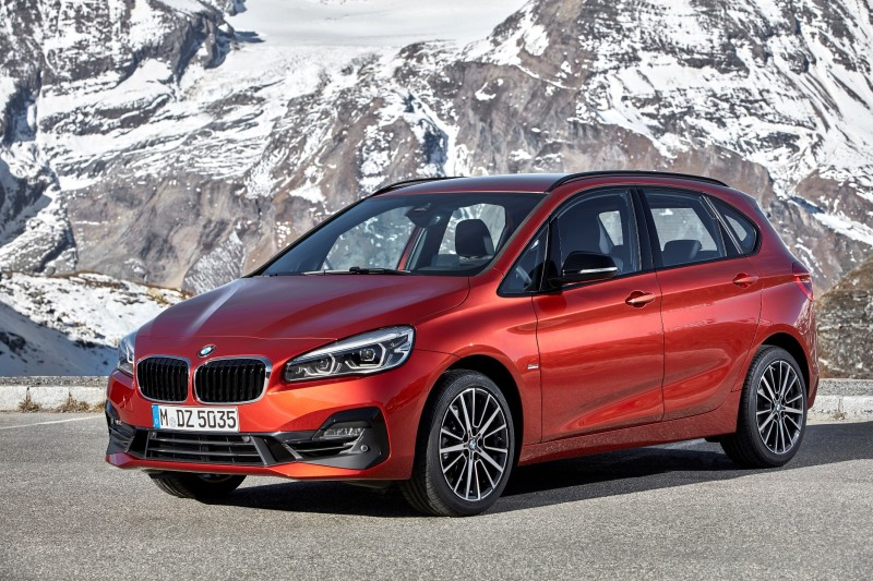 BMW Serie 2 Active Tourer a 169€ al mese