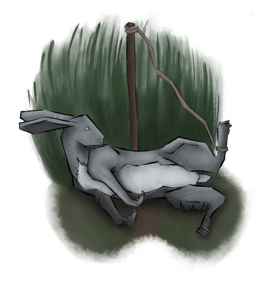 'Watership Down' Page Illustration #1