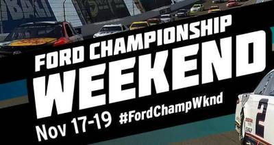 Monster Energy NASCAR Ford Championship Weekend