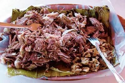 Barbacoa (goat meat)