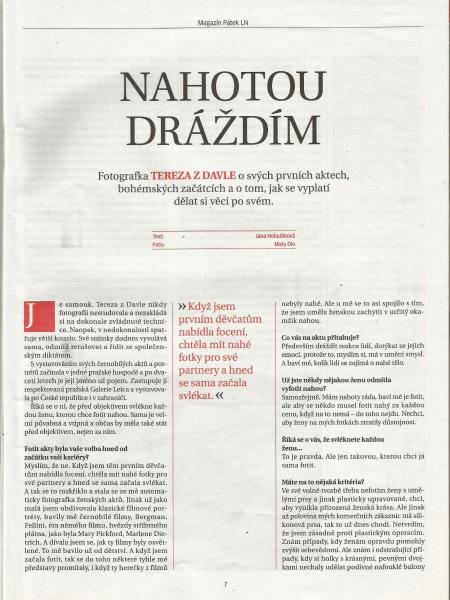 Lidové Noviny, 2015