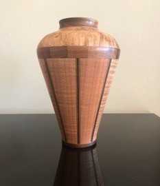 Mixed wood vessel