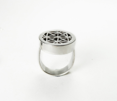 Hand pierced ring