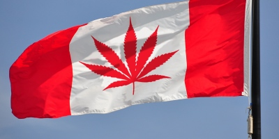 Pro Legalization Canadian Flag