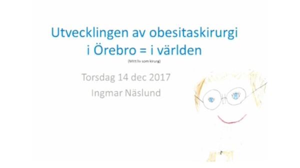 Ingmar Näslunds avskedsföreläsning