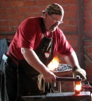 Larry Wasmund -Blacksmith