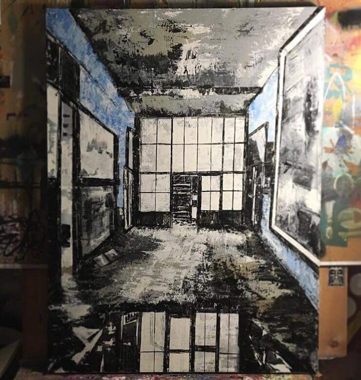 Matthew Harding - Painter