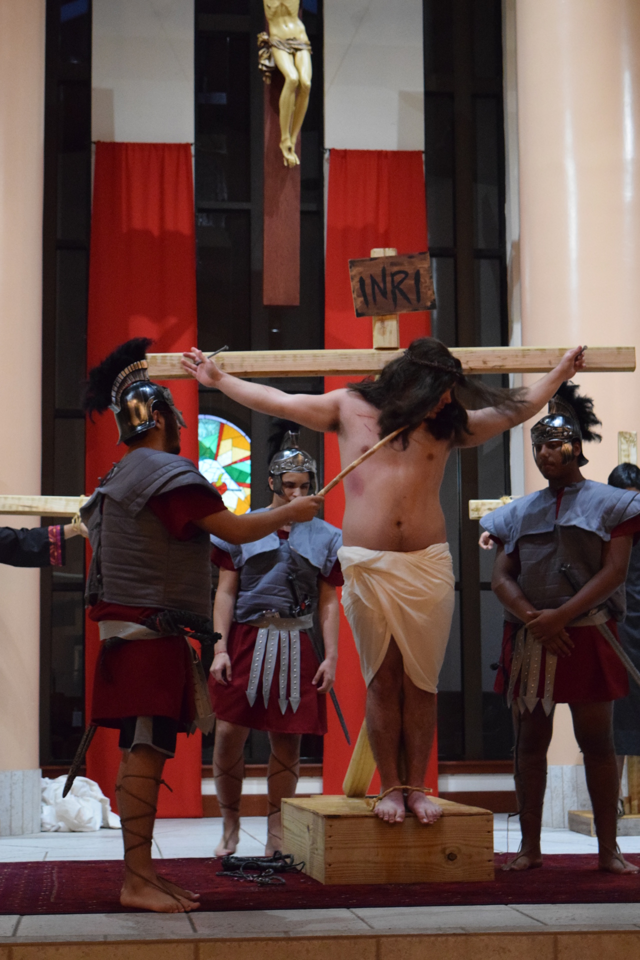Youth Ministry Living Stations of the Cross (March 16, 2018)