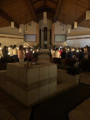 Easter Vigil (March 31, 2018)
