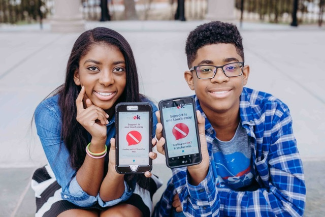 Brother & Sister, Charlie & Hannah Launched NotOK App For Kids Struggling With Their Mental Health
