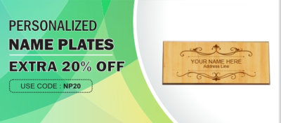 Offers you India's largest collection of nameplates online