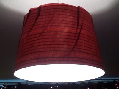 Ankara Fabric Lighting