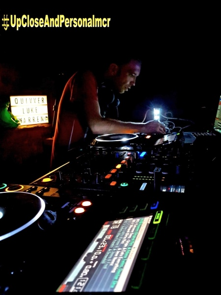 Upcloseandpersonalmcr resident DJ Luke Warren