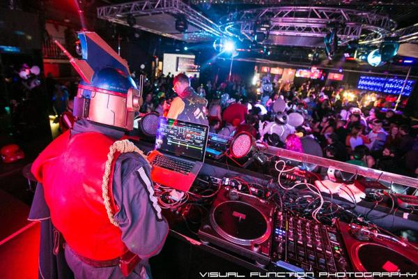 DJ Zeal Ray  and DJ Blue Ray