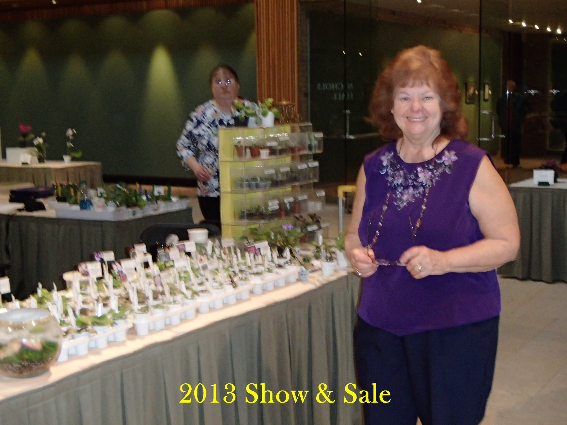 Member Sales Table at Show