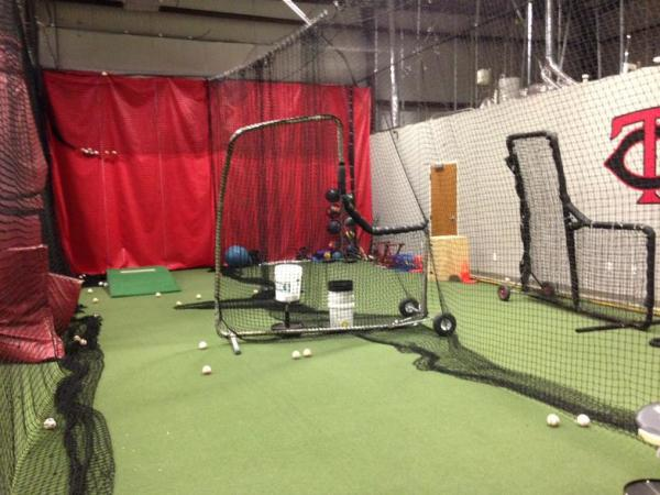 High-Tech Batting Cages