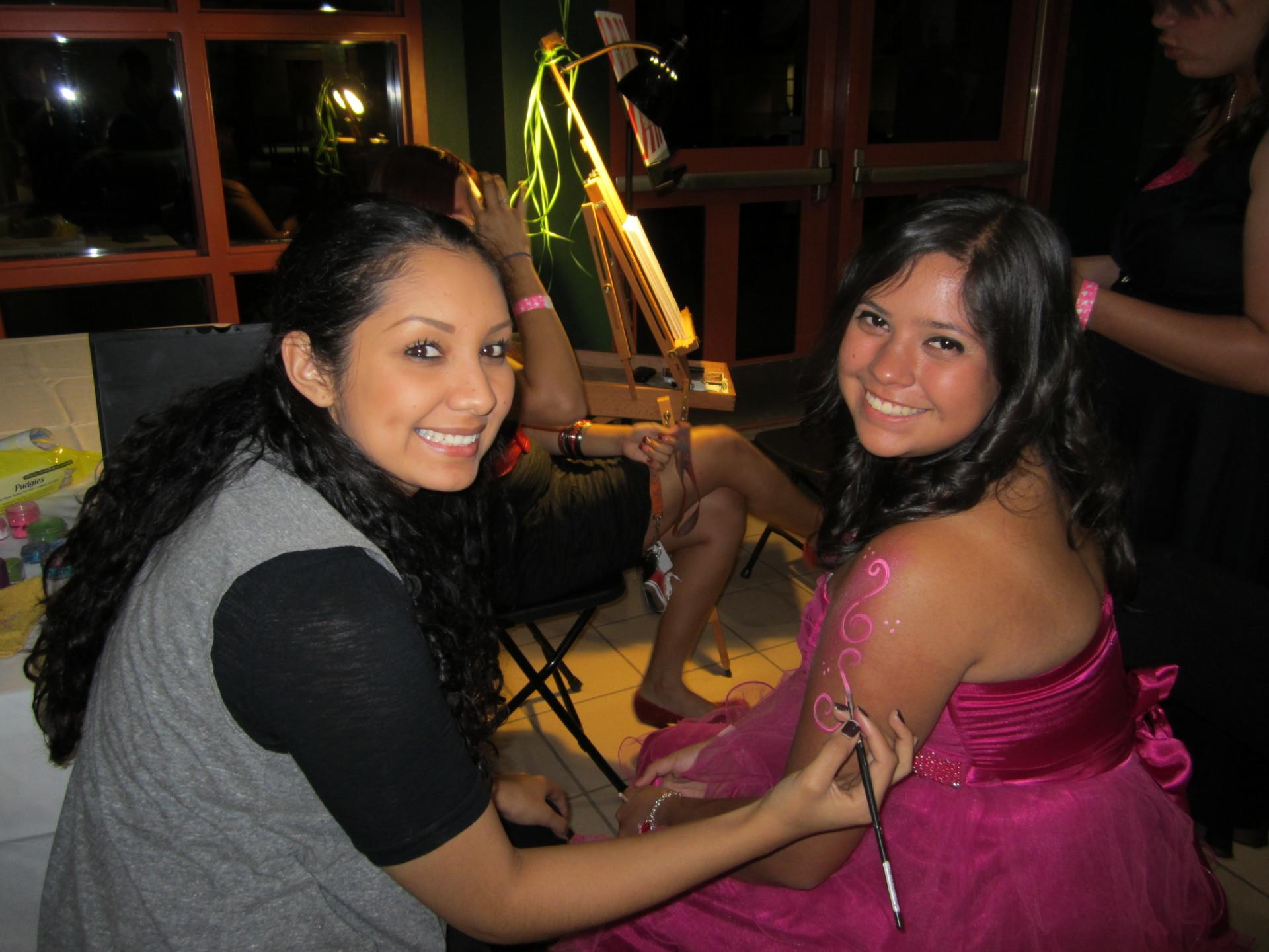 birthdays, parties, events, fiesta, cumpleanos, celebration, body, body art, body paint, special events