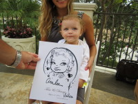 wedding, party, reception, gathering, engagement, party, planning, caricature, special event