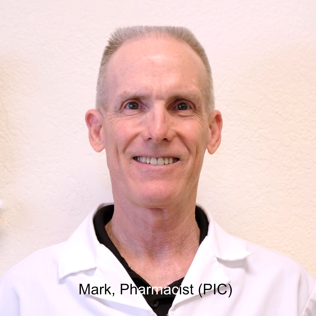 Mark, Pharmacist (PIC)