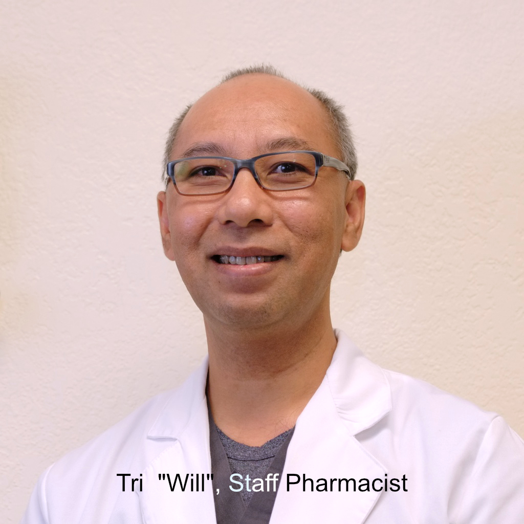 "Tri ""Will"", Staff Pharmacist"