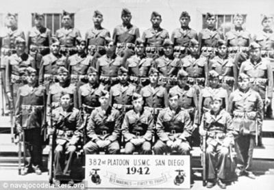 The Code Talkers who saved WW II.