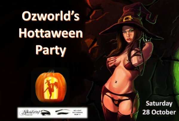 Annual Halloween Party at Shadows