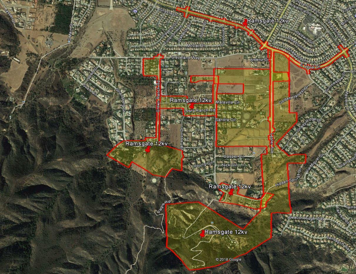 SCE Underground Utility Base Mapping