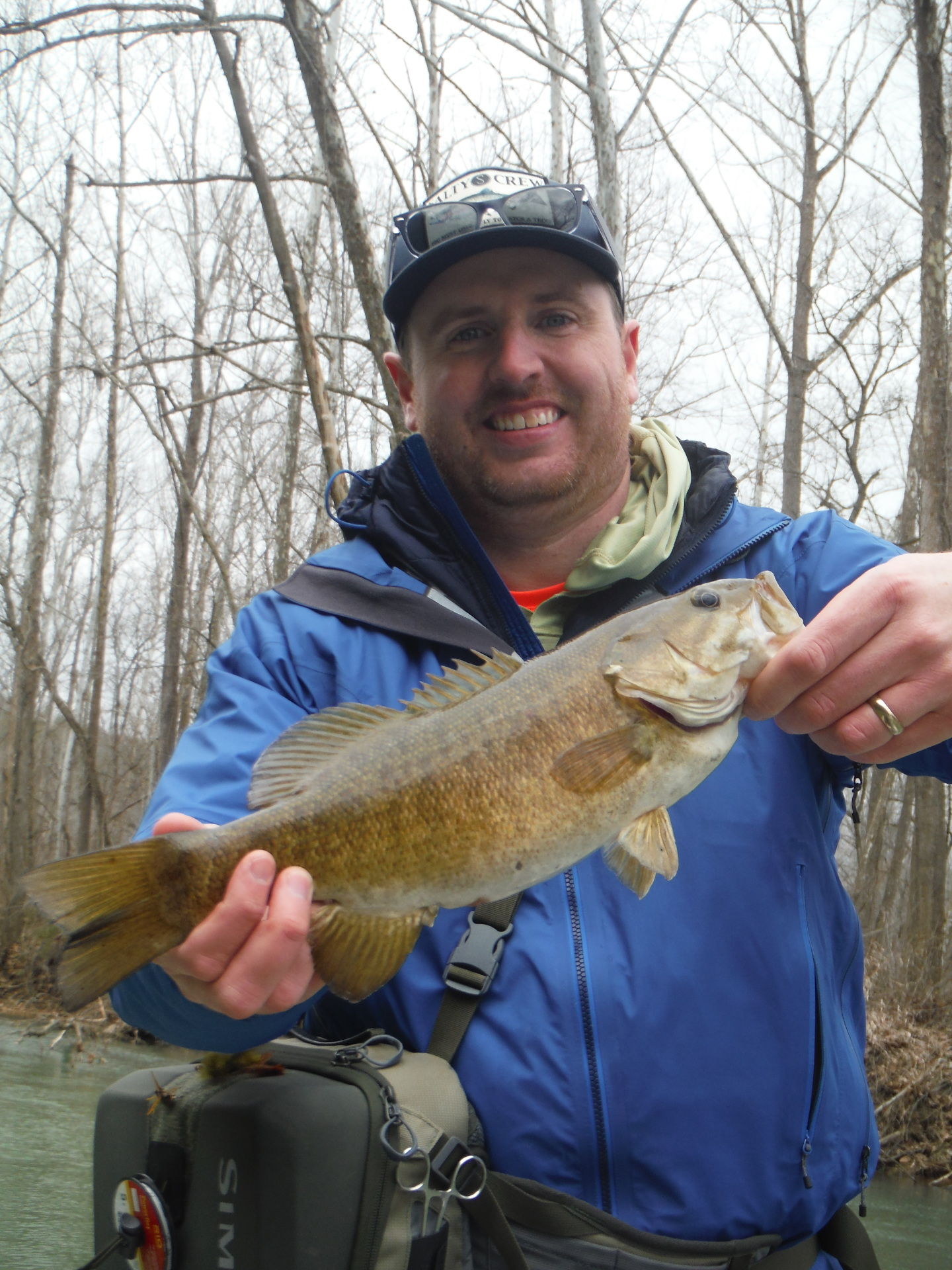 A fun day and a couple of half day smallie trips