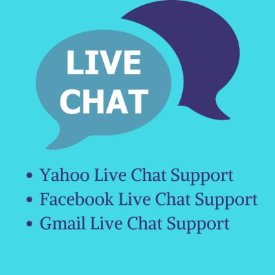 Yahoo live chat help