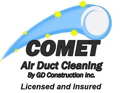 Comet Air Duct Cleaning in Bozeman, MT LOGO